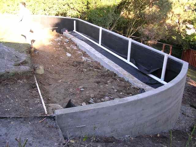 Marin Concrete Contractor in San Rafael Retaining Walls