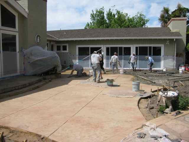 Concrete Contractor 187 Stamped Textured Concrete